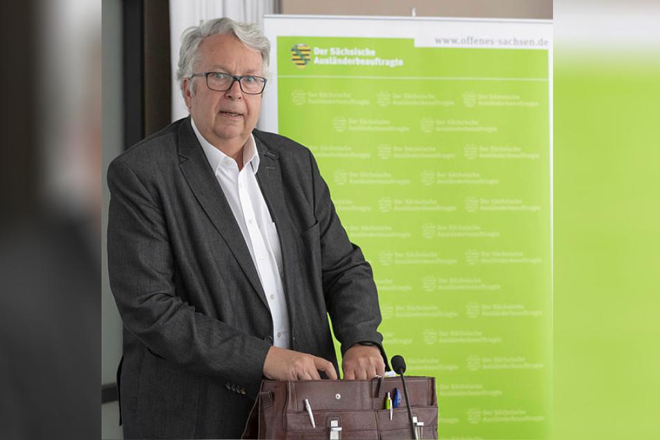 Ex-Justizminister Geert Mackenroth (70).