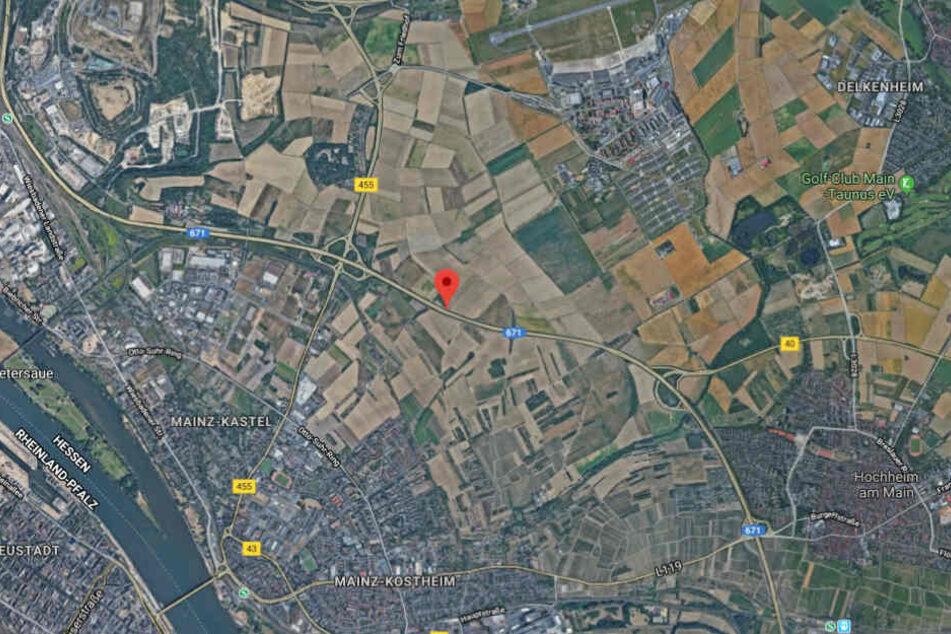 Der Unfall passierte auf der A671 zwischen Mainz-Kastel und Hochheim.