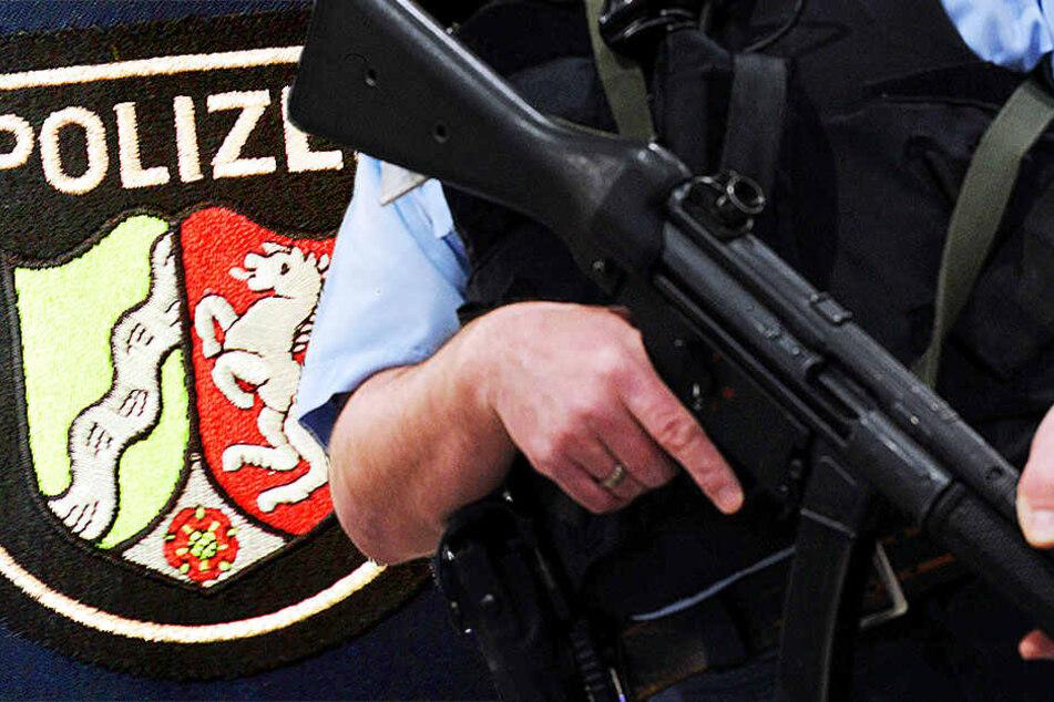 Mit der neuen Maschinenpistole MP 5 will sich die NRW-Polizei besser schützen,