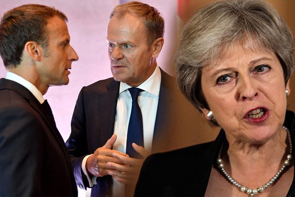 "Sind EU-Politiker ""Gangster"" und ""dreckige Ratten""?"