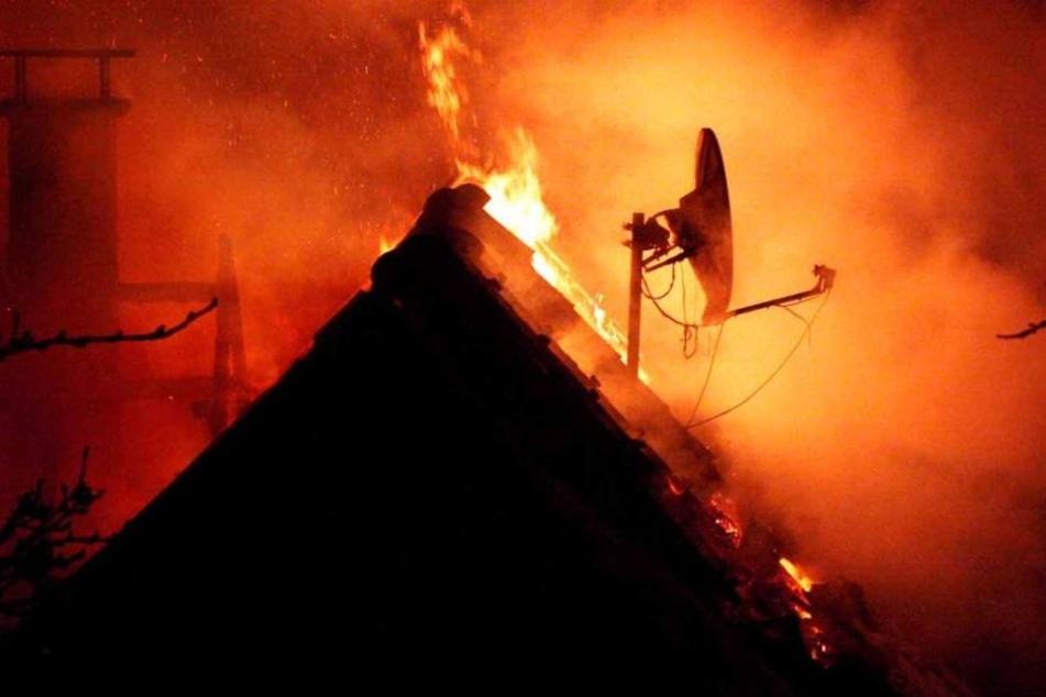 Sechs Wohneinheiten waren von dem Brand betroffen und brannten ab