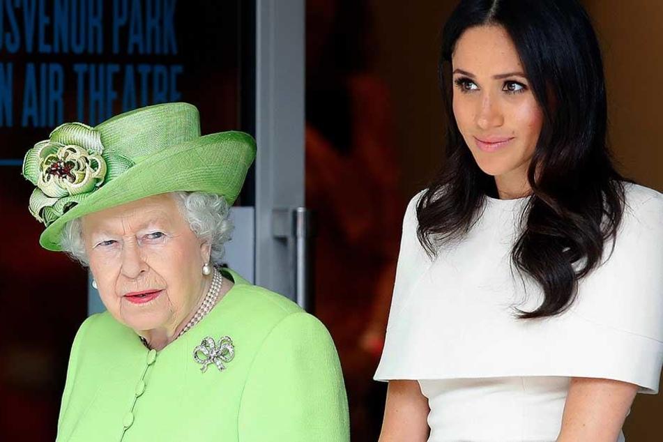 Herzogin Meghan muss sich dem Wort der Queen unterordnen.