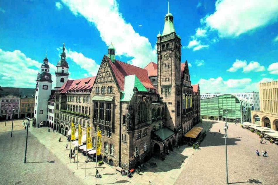 2020 wählt Chemnitz einen neuen Oberbürgermeister. Bisher gibt es drei Kandidaten fürs Rathaus.