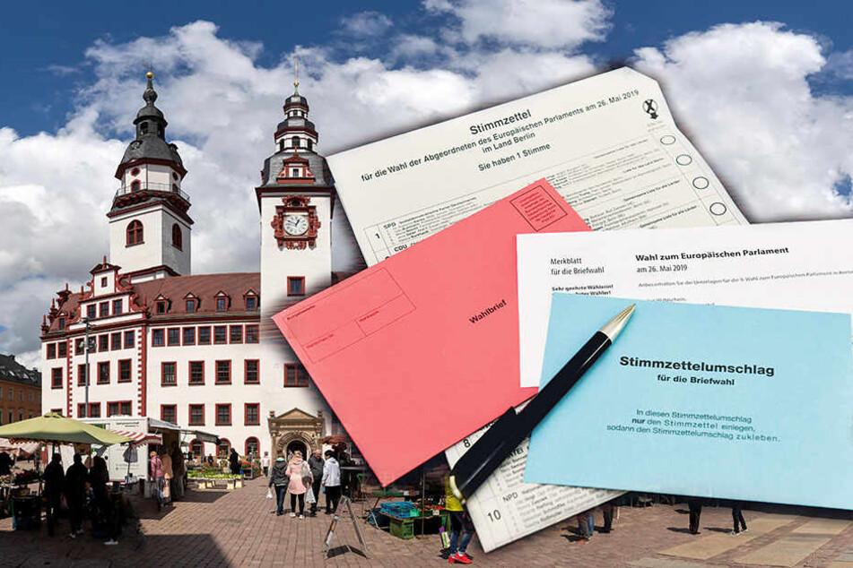 Blauer Stimmzettel-Umschlag fehlt! Briefwahl-Panne in Chemnitz