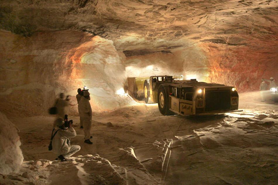 Der Salzabbau in Kaliwerken wie in Unterbreizbach steht wegen Entsorgungsproblemen immer wieder in der Krititk.