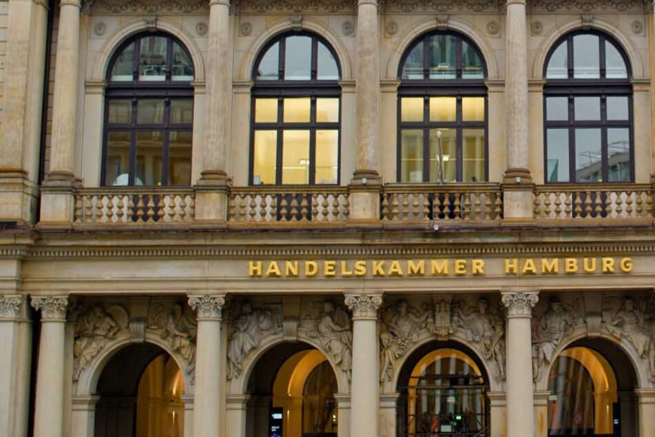 Die Handelskammer in Hamburg befindet sich in der Innenstadt.
