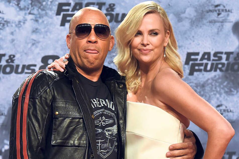 Vin Diesels (49) Lippen soll man küssen? Charlize Theron (41) sieht das etwas anders.