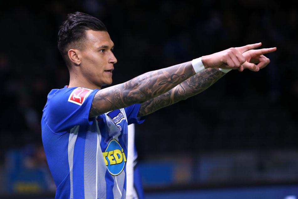 Erhält eine Stammplatz-Garantie: Davie Selke wird gegen Mainz 05 in der Startelf stehen.