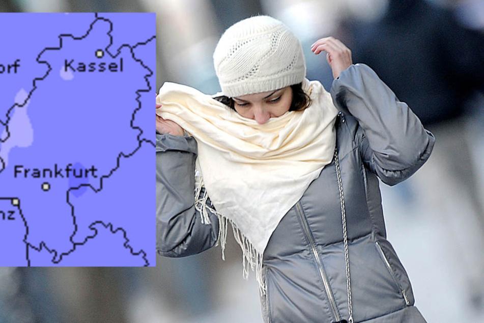 In Hessen wird es in der kommenden Wochen frisch. (Symbolbild/Fotomontage)