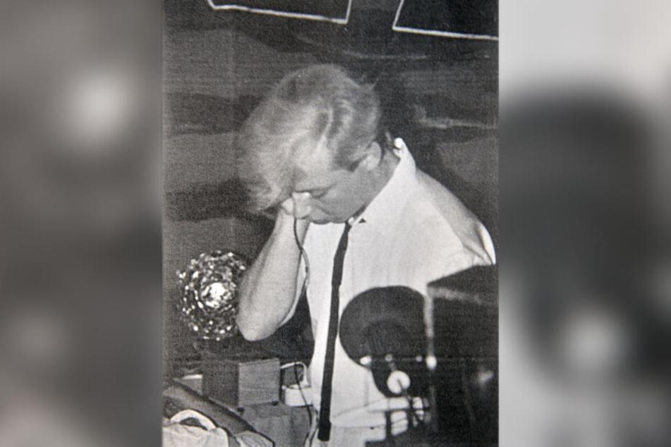 Schon in Karl-Marx-Stadt war der junge DJ Geyer eine Kultfigur.
