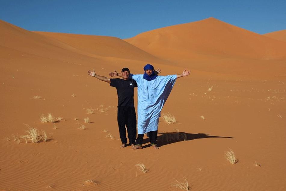 Die Wüste Sahara in Algerien ist der absolute Favorit von Reiseveranstalter Frank Schulz (59).