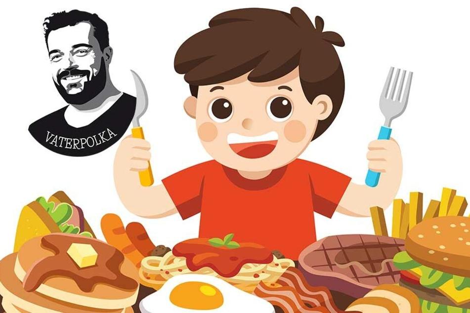 Im Restaurant mit Kindern: Nerven-Krieg für Fortgeschrittene