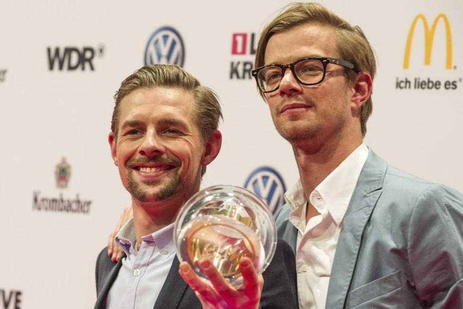 Mit ihren Shows räumten die beiden etliche Preise ab, darunter den Sonderpreis der 1Live-Krone 2014.
