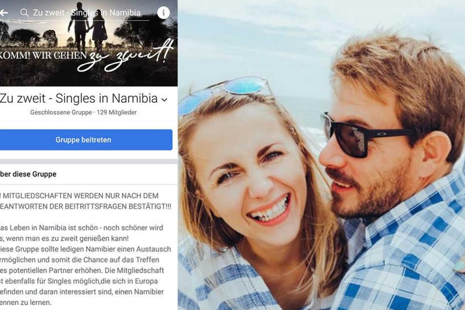 Anna und Gerald haben eine Dating-Gruppe bei Facebook gegründet.
