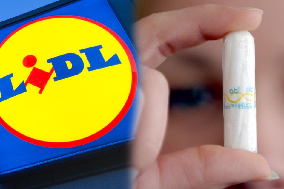 Tampons und Binden: Lidl senkt Preise ab heute!