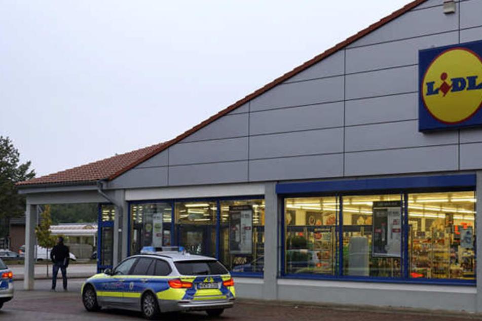 Dieser Lidl-Supermarkt in Barkhausen wurde Opfer eines Raubüberfalls.
