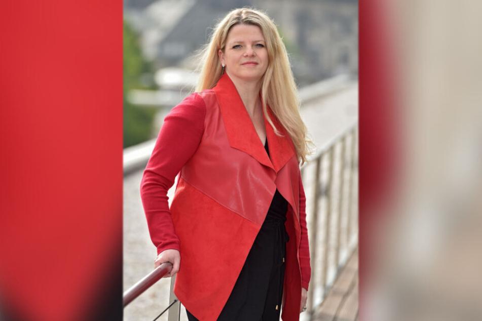 Susanne Scharper (42, Linke) bringt kommunal geführte Pflegeheime ins Gespräch.