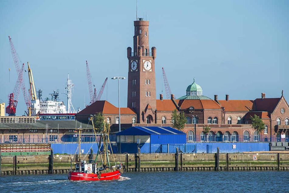 Der Hamburger Hafen ist ein Touristenmagnet. Wer keine Rundfahrt machen möchte, kann ein paar Haltestellen mit öffentlichen Fähren fahren, die über die Elbe und auch durch den Hafen fahren. Rad mitnehmen ist da erlaubt.