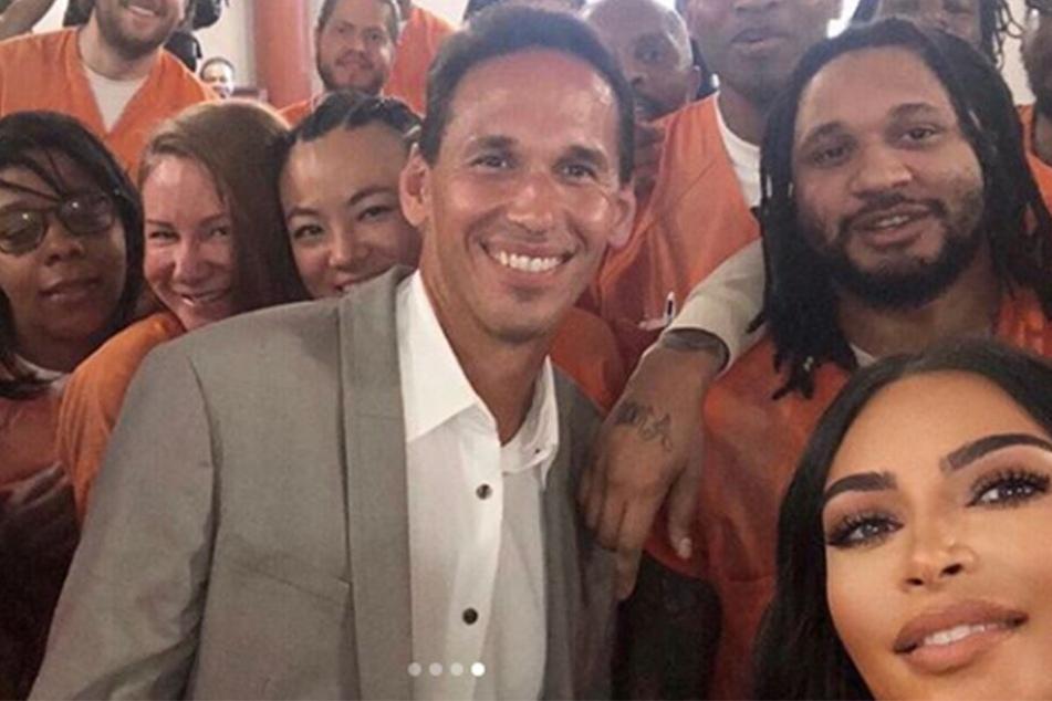 Kim Kardashian zu Besuch in einem Gefängnis in Washington.