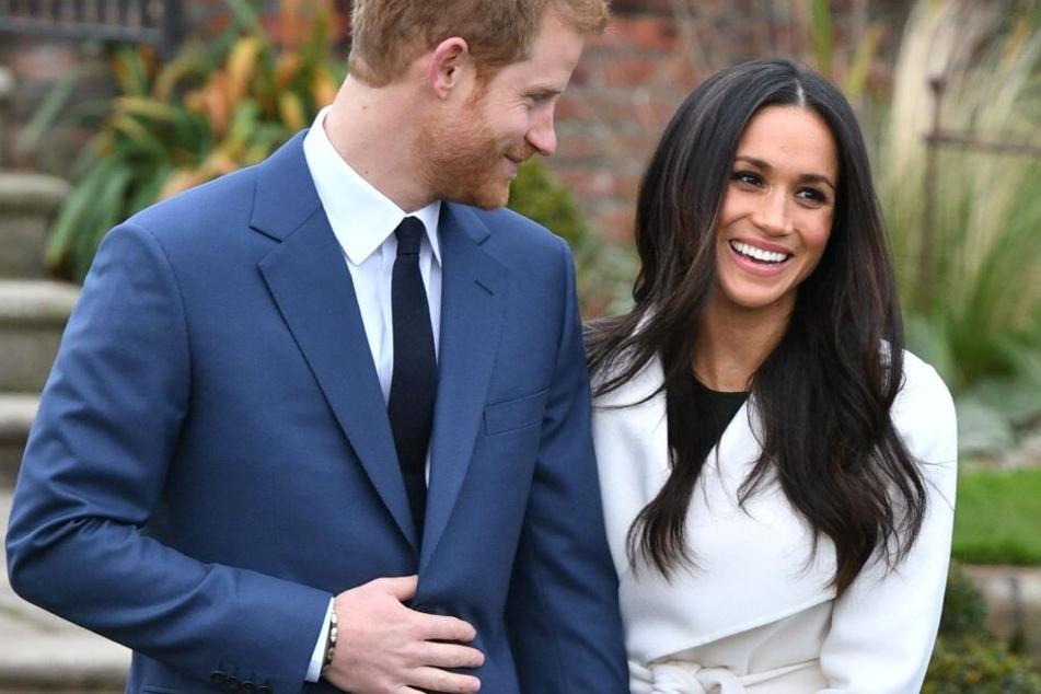 Das glückliche Paar bei ihrer Verlobung. Da ahnten sie noch nichts von den zukünftigen Skandalen.