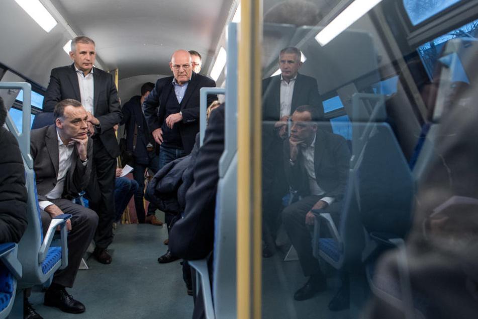 Viele Fahrgäste nutzten die Chance, sich zu beschweren.
