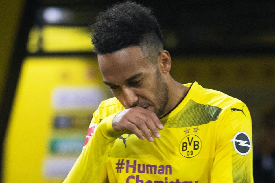 Pierre-Emerick Aubameyang schoss verbal mit einem Tweet gegen Geschäftsführer Hans-Joachim Watzke zurück.