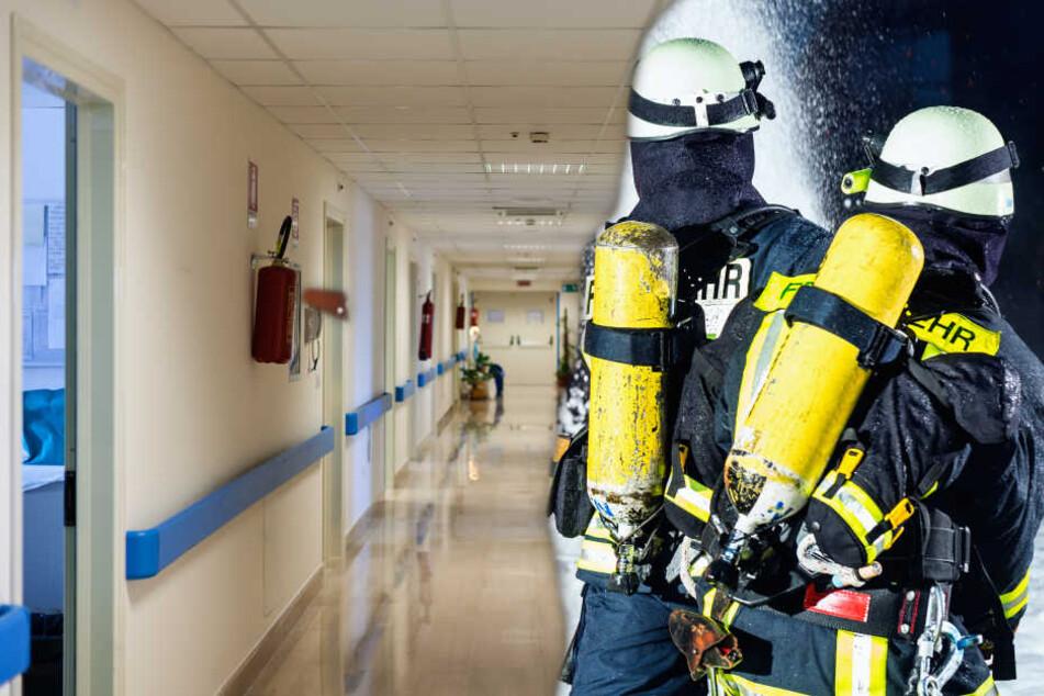 Millionenschaden: Verwirrter Patient steckt Matratze in Krankenhaus in Brand