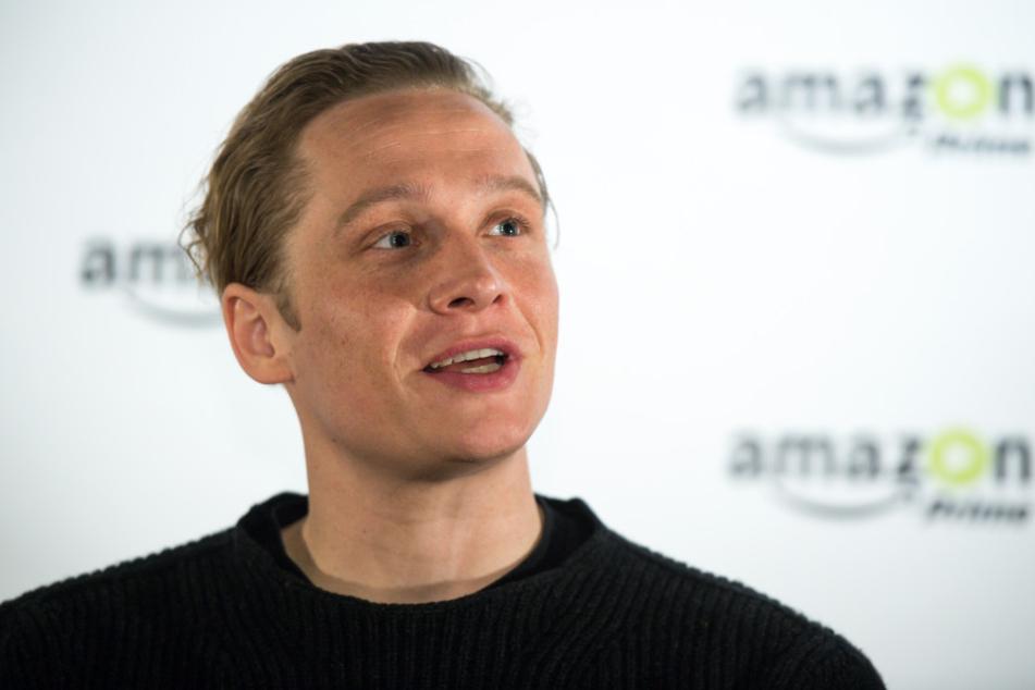 Matthias Schweighöfer bei einer Pressekonferenz in Berlin.