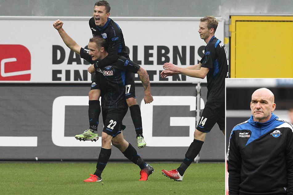 Das Ende der Hinrunde konnte der SCP unter Trainer Emmerling mit einem 3:1-Sieg über den VfL Osnabrück bejubeln.