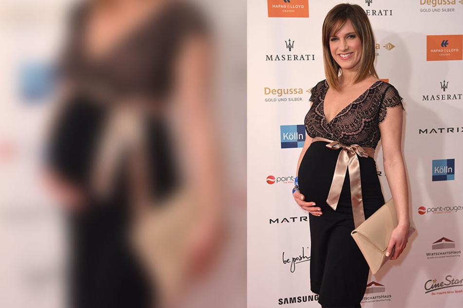 Auf der Berlinale im Februar präsentierte Isabell Horn überglücklich ihren hochschwangeren Bauch.