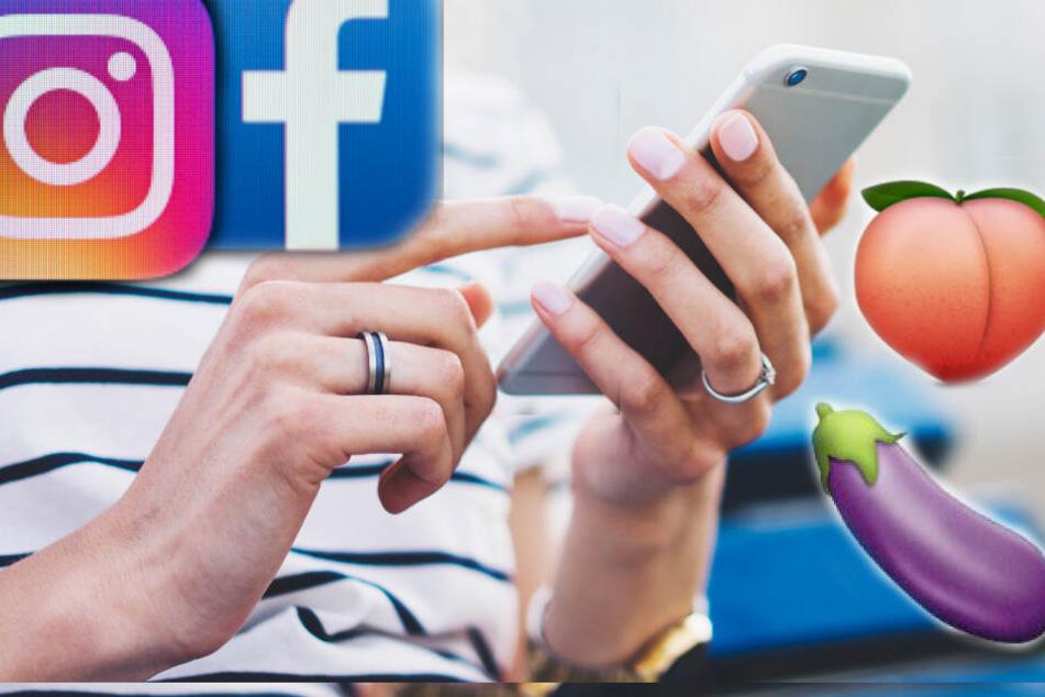 """Facebook und Instagram prüde? Posts mit diesen """"Sex-Emojis"""" sollen gesperrt werden!"""