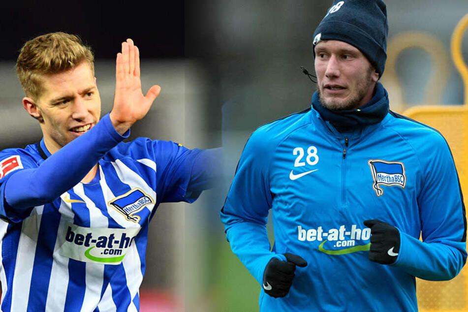 Mitchell Weiser und Fabian Lustenberger drohen gegen Hoffenheim auszufallen.