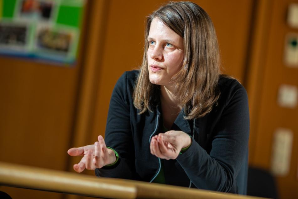 Fraktionsvorsitzende Julia Willie Hamburg spricht sich gegen eine Ausgangssperre aus.