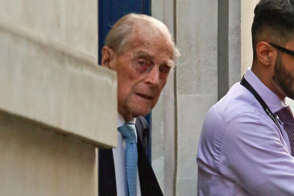 Prinz Philip (98) kann Heiligabend bei seiner Familie verbringen.