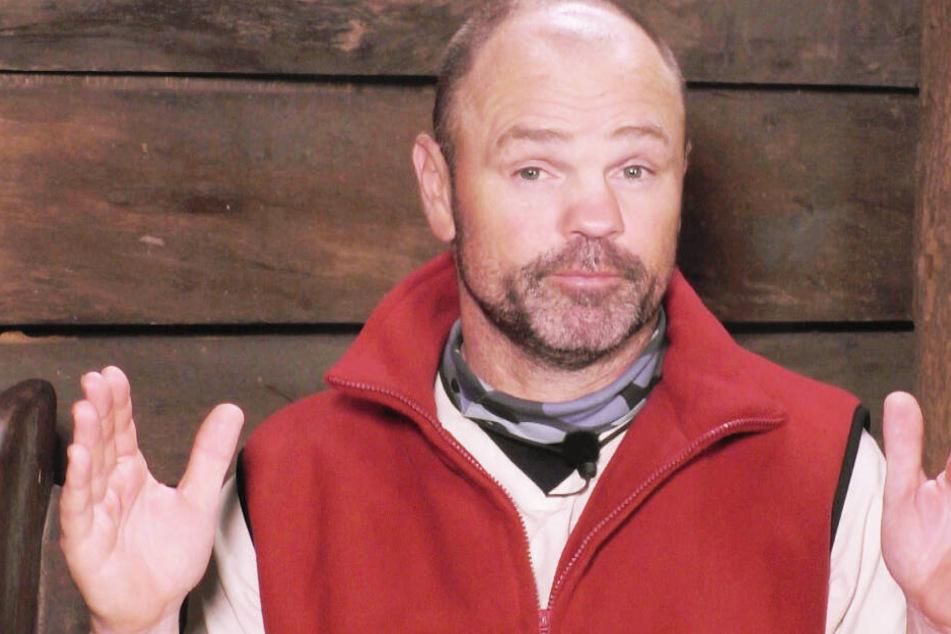 Sven Ottke (52) im Dschungel-Telefon.
