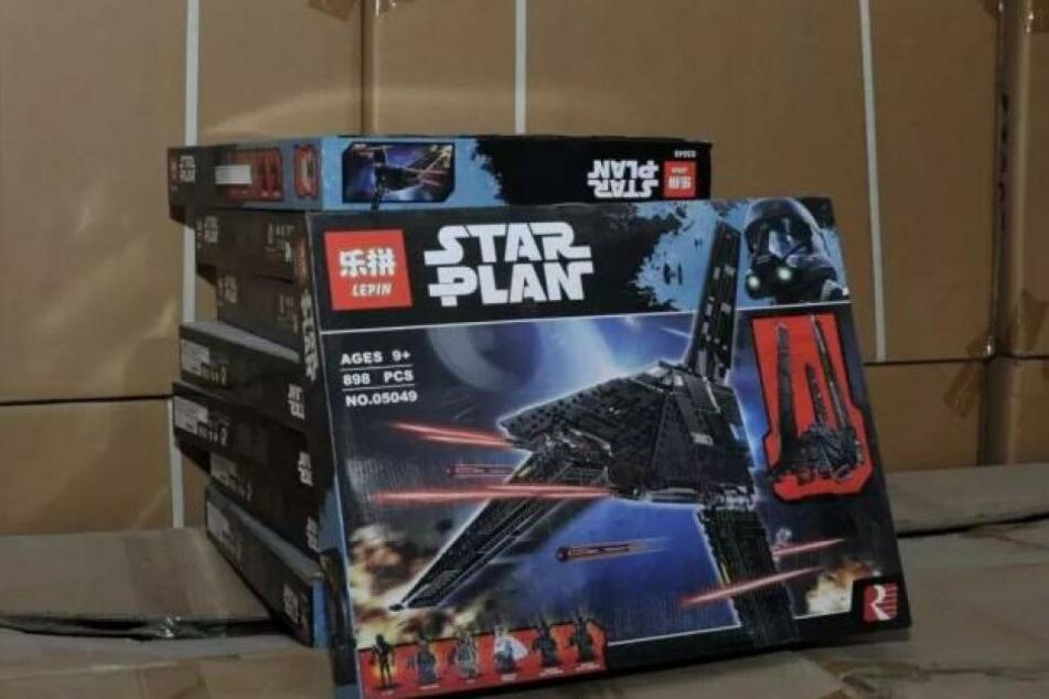 """Statt wie im Originalen """"Star Wars"""", heißen die Fälschungen """"Star Plan""""."""