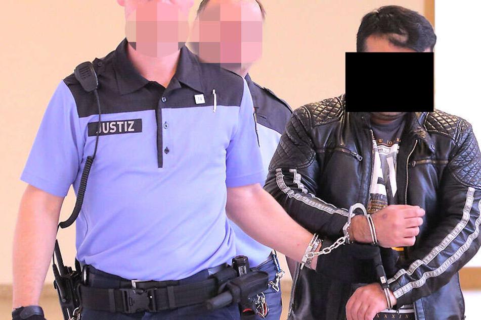 Tatort Pieschener Elbhafen: Mann wollte eine Frau vergewaltigen