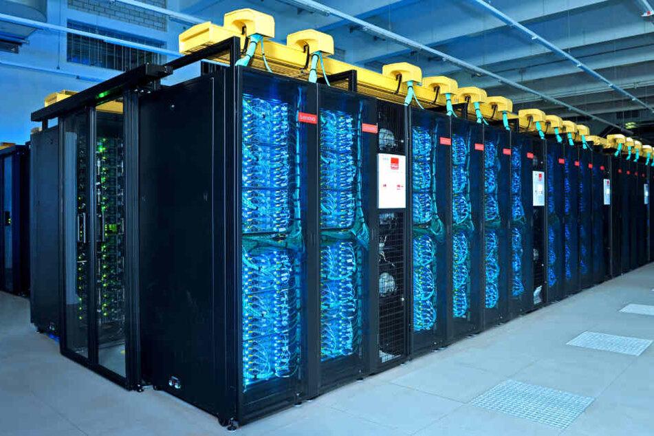 Der schnellste deutsche Rechner: SuperMUC-NG.