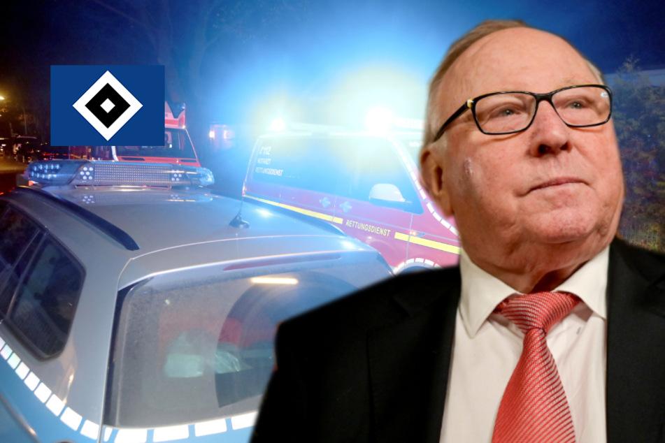 Sorge Um Hsv Idol Uwe Seeler Kommt Mit Blaulicht In Die Klinik Tag24
