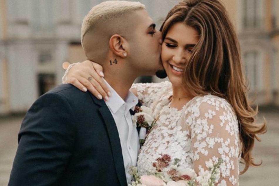 Das Paar überraschte seine Fans mit einer spontanen Hochzeitszeremonie.