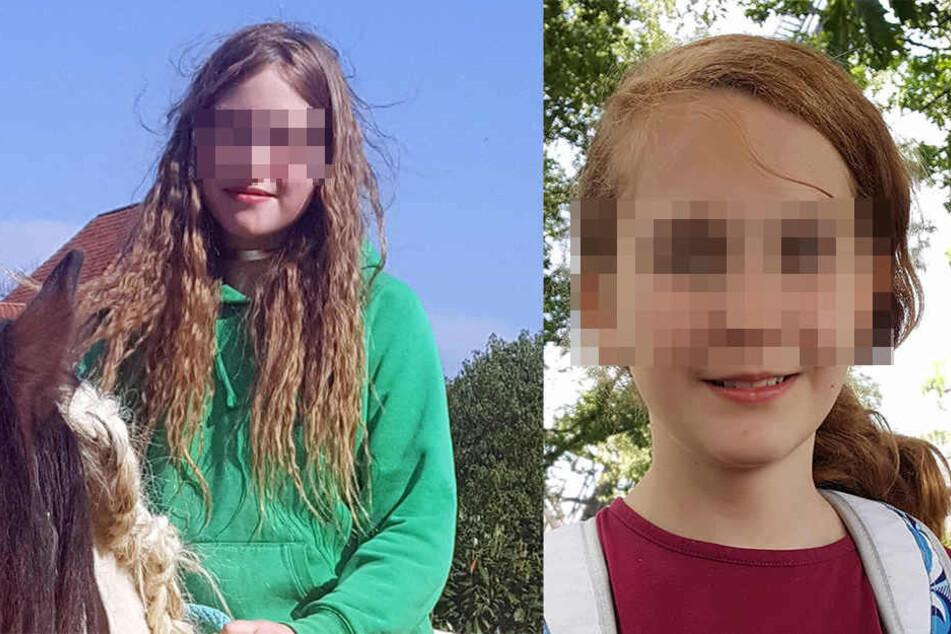 Mit Fotos der Mädchen sucht die Polizei nach ihnen.