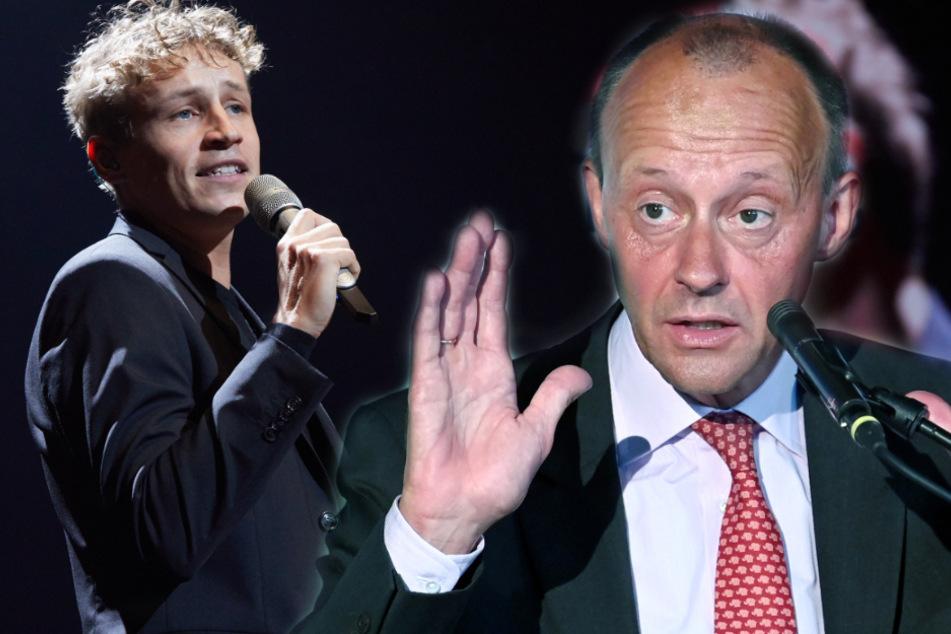 Friedrich Merz vergleicht CDU-Parteitag mit Tim-Bendzko-Konzert