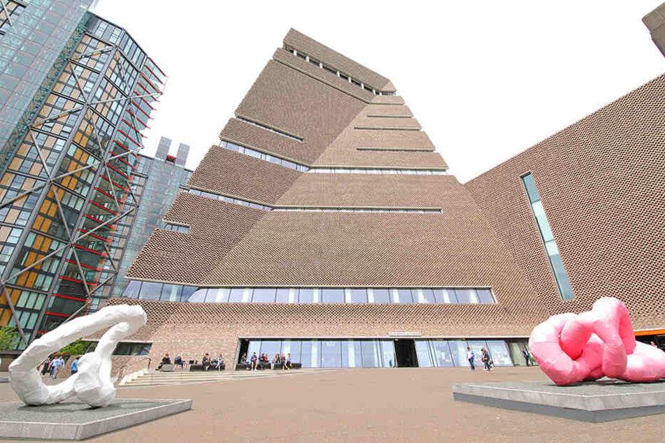 Das Tate Modern Msuem in London.