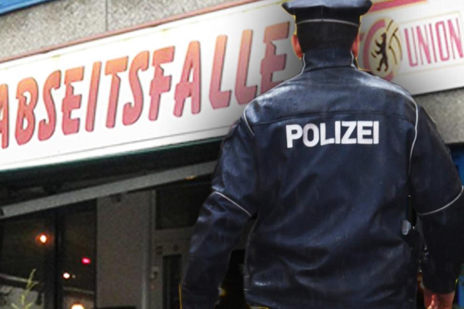 Mit Fäusten und Möbeln: Beliebte Union-Kneipe nach Fan-Streit zerlegt