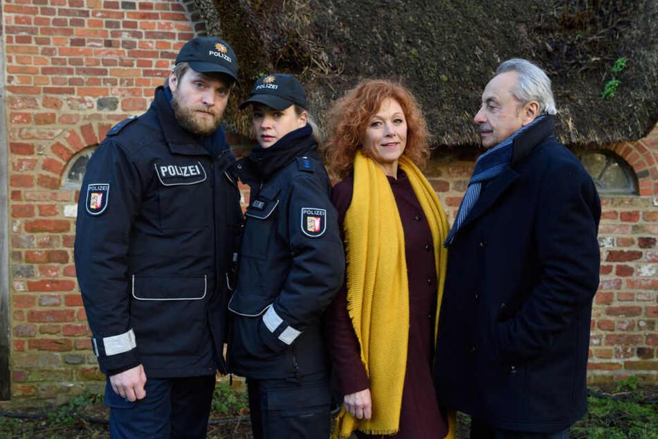 Niklas Laab (Knud Riepen), Jördis Meeske (Caroline Hanke), Marlene Berger (Heike Trinker), Wilfried Stubbe (Wolfgang Stumph).