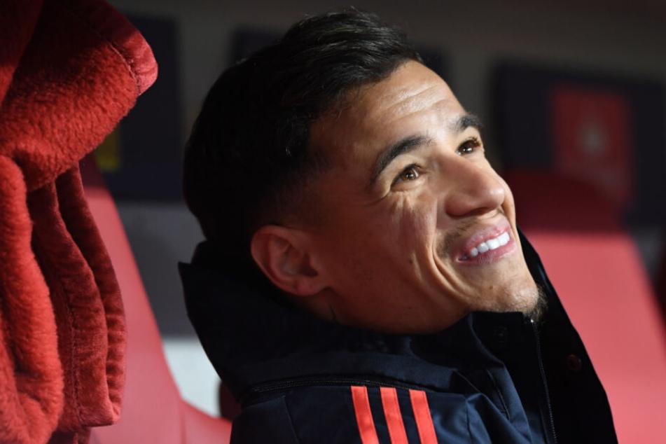 Philippe Coutinho muss sich unter Hansi Flick wohl mit der Reservistenrolle anfreunden.