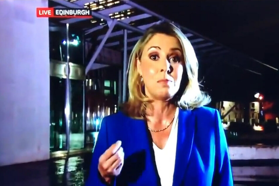 BBC News Korrespondentin Sarah Smith.