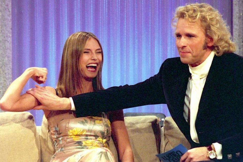 Gottschalk hat Heidi quasi berühmt gemacht.