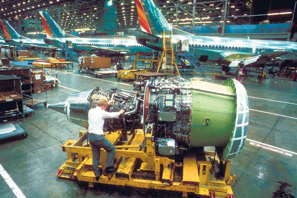 """Die in Dresden entwickelte """"152"""" war der erste deutsche Passagier-Jet."""