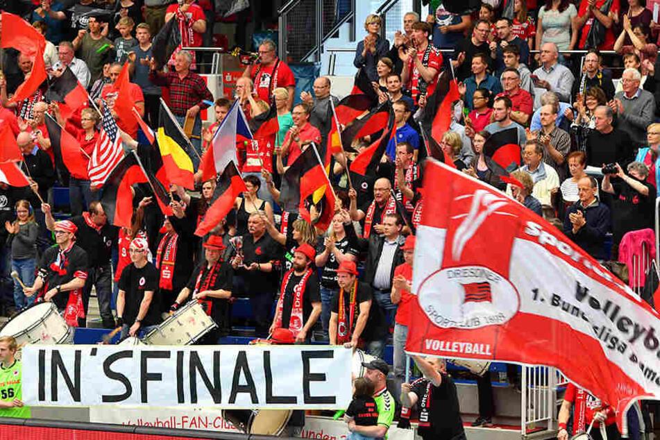 """""""In's Finale"""" - geht der Wunsch der DSC-Fans am Ostersonnabend in Stuttgart in Erfüllung?"""